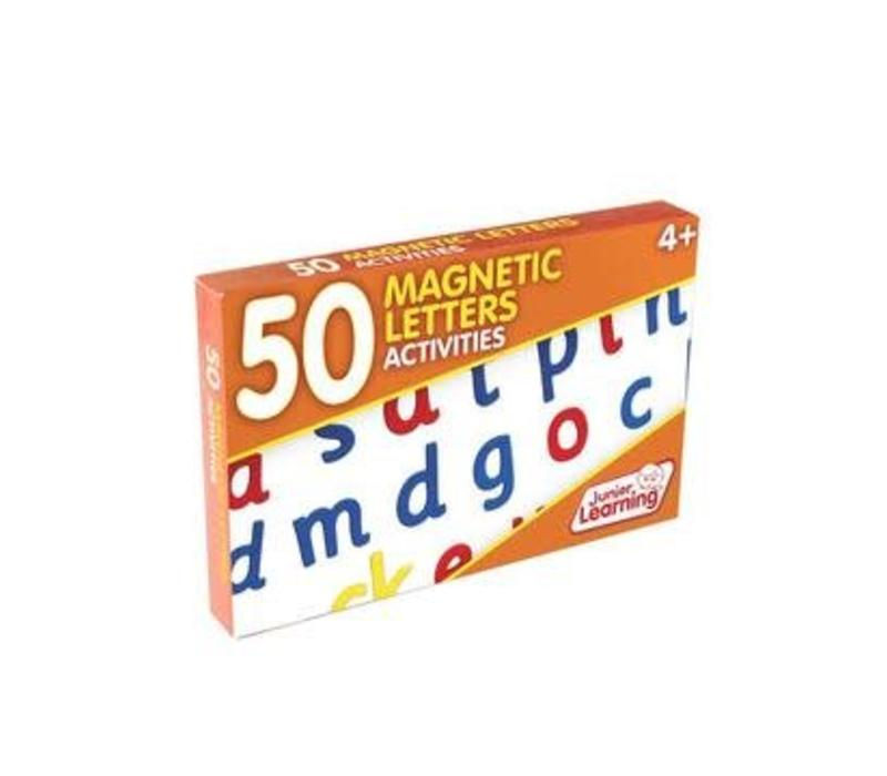 50 Magnetic Letters Activity Cards *