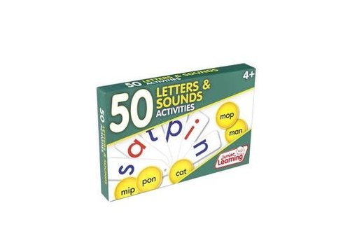 JUNIOR LEARNING 50 Letters & Sounds Activity Cards
