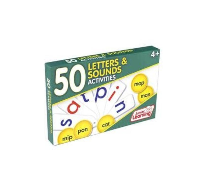 50 Letters & Sounds Activity Cards