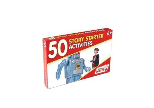 JUNIOR LEARNING 50 Story Starter Activity Cards