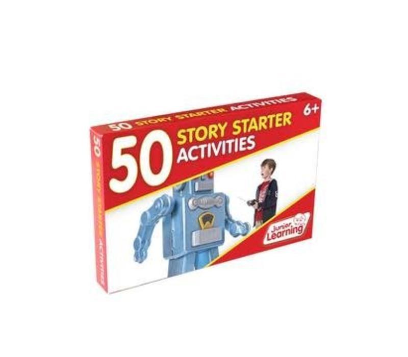 50 Story Starter Activity Cards