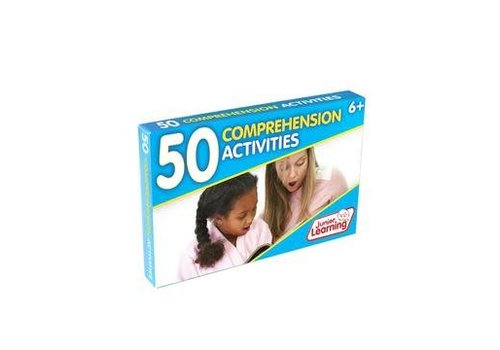 JUNIOR LEARNING 50 Comprehension Activity Cards