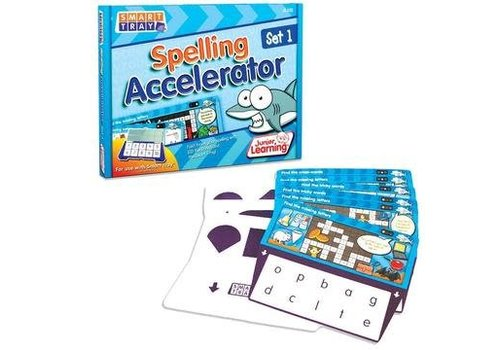 JUNIOR LEARNING Spelling Accelerator Cards Set 1