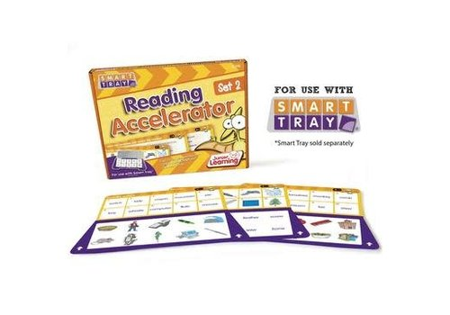 JUNIOR LEARNING Reading Accelerator Cards Set 2