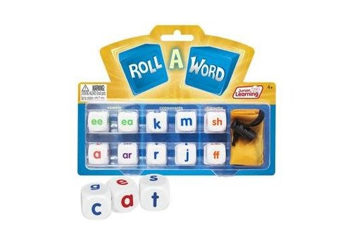 JUNIOR LEARNING Roll A Word