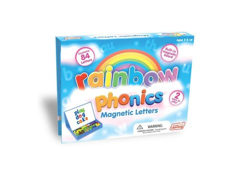 JUNIOR LEARNING Rainbow Phonics Magnetic Letter Set