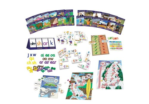 JUNIOR LEARNING Letters & Sounds  Phase 3 - Phonics Kit