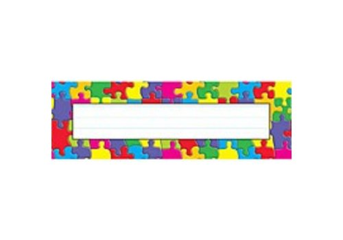 Trend Enterprises Jigsaw Nameplates