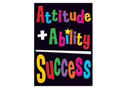Trend Enterprises Attitude + Ability Poster*