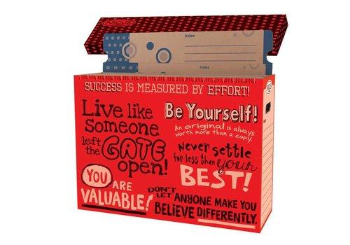 Trend Enterprises Poster Storage Box