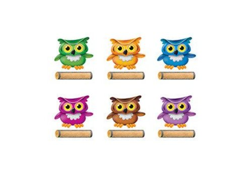 Trend Enterprises Bright Owls Variety Pack Accents, 36 *