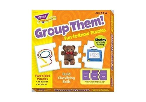 Trend Enterprises Group Them! Fun to Know Puzzle