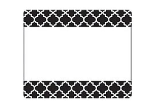 Trend Enterprises Moroccan Black Labels