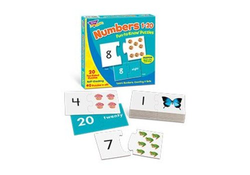 Trend Enterprises Numbers 1-20 Fun to Know Puzzle