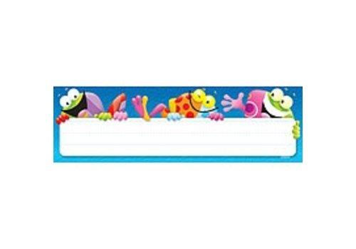 Trend Enterprises Frog-tastic! Nameplates