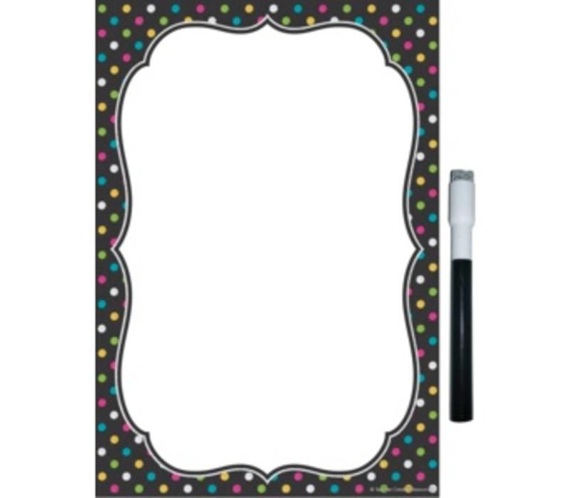 Copy of Clingy Thingies - Chalkboard Brights Large Note Sheet