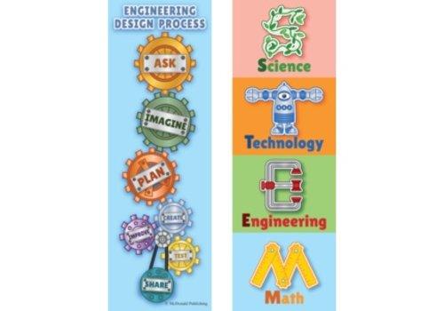 Teacher Created Resources Stem Bookmarks (D) *