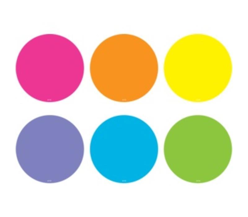 Spot On Carpet Markers Bright Circles