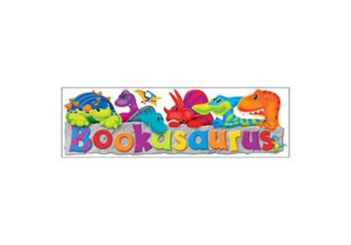 Trend Enterprises Bookasaurus Bookmarks