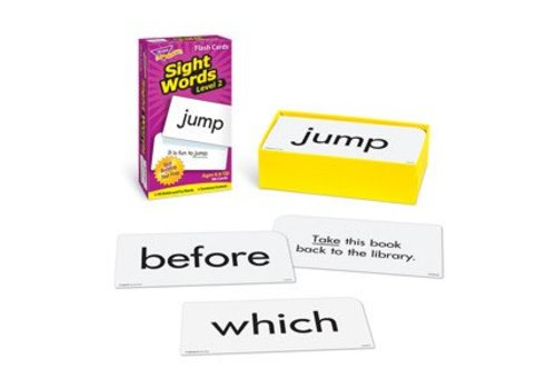 Trend Enterprises Sight Words - Level 2 Flashcards