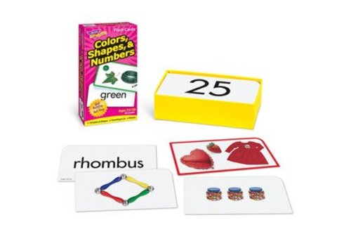 Trend Enterprises Colors, Shapes, & Numbers Flashcards