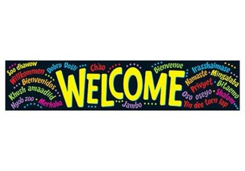 Trend Enterprises Welcome (Multilingual) Banner