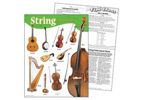 Trend Enterprises String Instruments Poster*