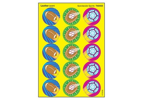 Trend Enterprises Spectacular Sports/Leather Stickers