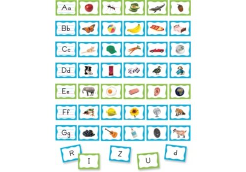 Teacher Created Resources Pocket Chart Cards - Alphabet