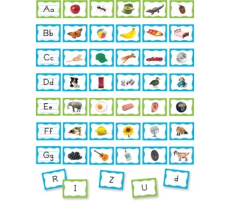 Pocket Chart Cards - Alphabet
