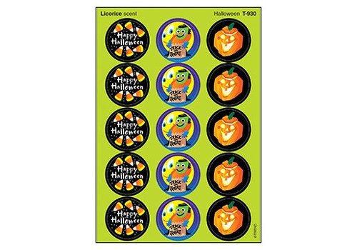 Trend Enterprises Halloween/Licorice Stickers