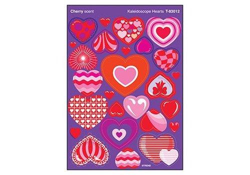 Trend Enterprises Kaleidoscope Hearts/Cherry Stickers