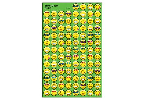 Trend Enterprises Emoji Cheer Stickers