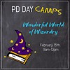 LEARNING TREE Wonderful World of Wizardry PD Day Camp