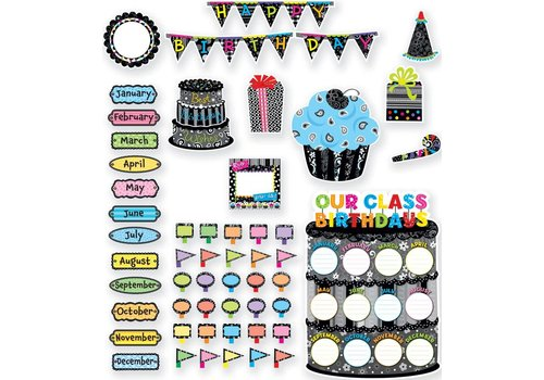 Creative Teaching Press Happy Birthday Bulletin Board Set