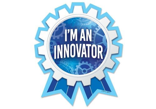 Creative Teaching Press I'm an Innovator BADGES