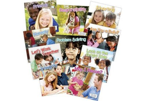 Teacher Created Resources Little World Social Skills Books, Set of 10