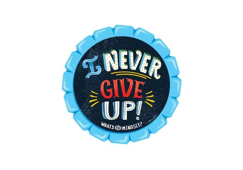 Creative Teaching Press I Never Give Up BADGES