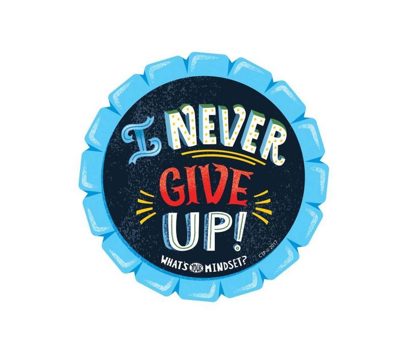 I Never Give Up BADGES (D) *