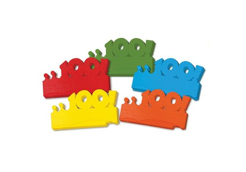 CREATIVITY STREET 100th Days of School Paper Crowns, Set of 25