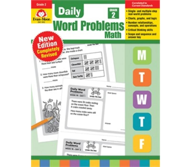 DAILY WORD PROBLEMS GRADE 2 - Revised *