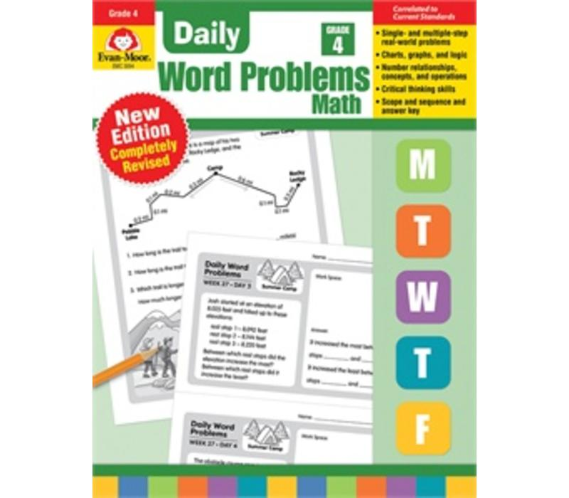 DAILY WORD PROBLEMS GRADE 4 - Revised *