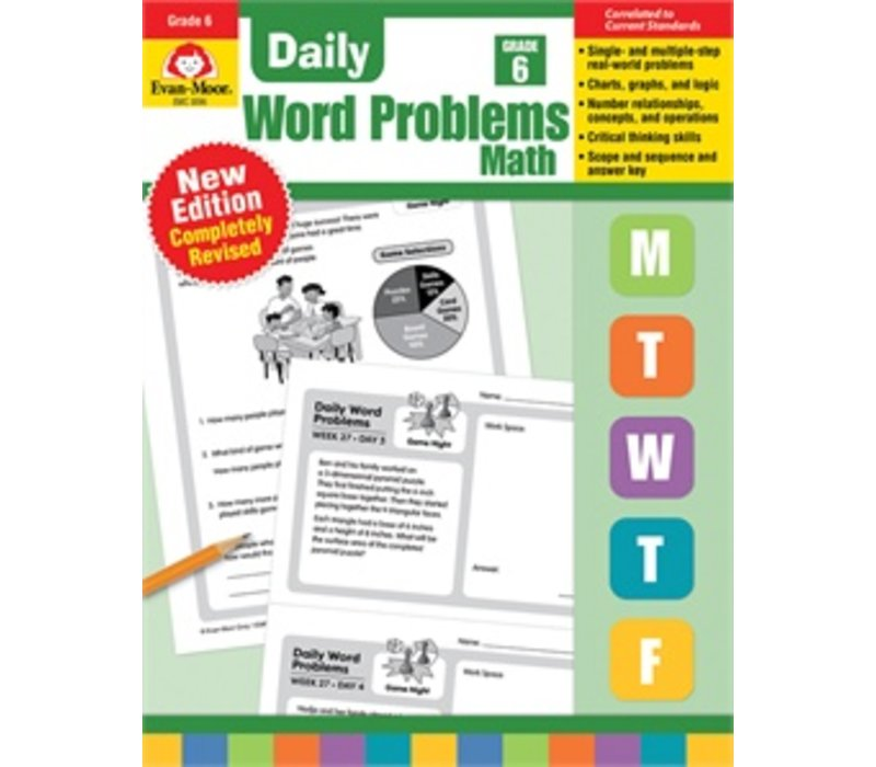 DAILY WORD PROBLEMS GRADE 6 - Revised *