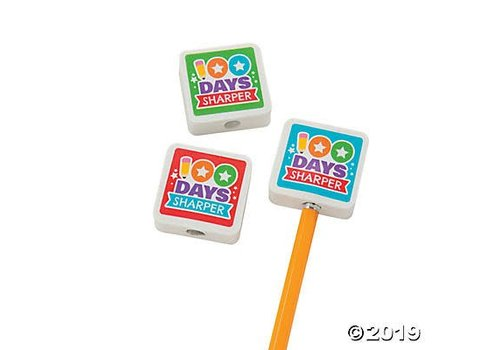 fun express 100th Day Sharper Erasers
