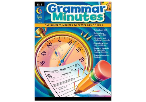 Creative Teaching Press Grammar Minutes Gr 4