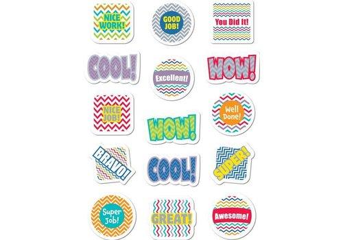 Creative Teaching Press Chevron Reward Stickers