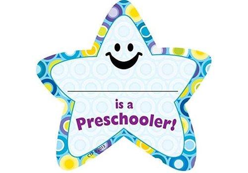 Creative Teaching Press I'm a Preschooler Star Badge (D) *