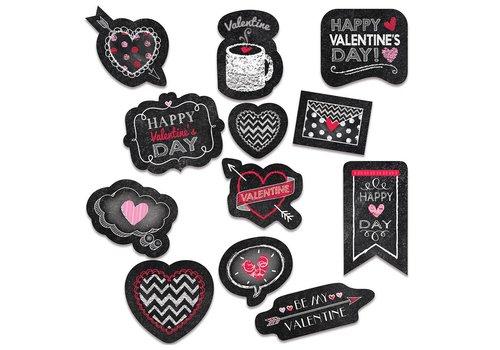 Creative Teaching Press Chalk Valentine's Day Stickers