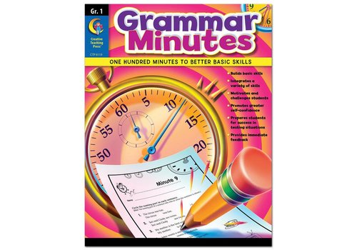 Creative Teaching Press Grammar Minutes Gr 1