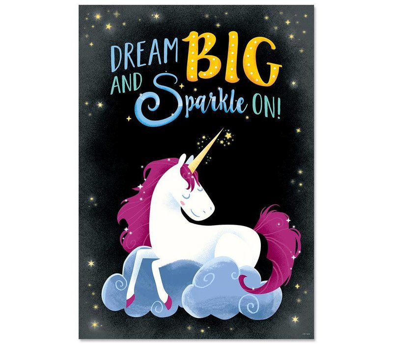 Dream Big and Sparkle On.. Inspire-U Poster*